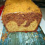 recette Cake marbré nutella et spéculoos