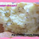 recette cake mangue citron pavot