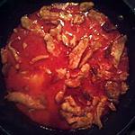 recette escalopes aux chorizo