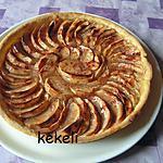 recette Tarte aux pommes et à la cannelle
