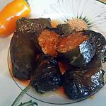 recette Feuilles de vignes farcies au quinoa - Sarmale
