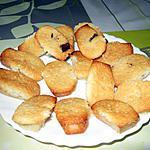 recette Mini-financiers à la poire et au chocolat