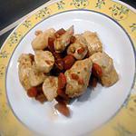 recette Poulet  au carotte et miel