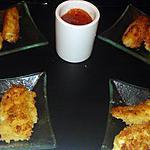 recette Bâtonnet de Mozzarella pané frit