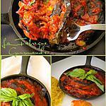 recette Cassolette D'Aubergine à la Sauce Tomate Basilic