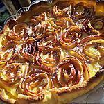 recette Tarte bouquet de roses aux pommes