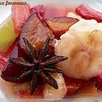 recette Salade de fruits au sirop épicé