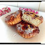 recette les tartelettes sont levées à la noix de coco-framboise