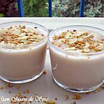 recette PANACOTTA CRèME DE MARRON & AMANDE