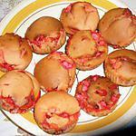 recette Muffins à la praline,recette revisitée des briochettes de PHILO