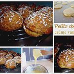 recette Petits choux à la crème vanille