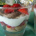 recette Tiramisu aux Fraises (allégé)