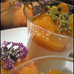 recette Panna Cotta Lavande et sa Compotée d'abricots