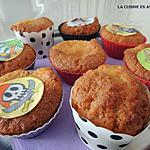 recette MUffins arôme chewing gum