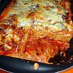 recette Lasagnes à la bolognaise sauce soja a l italienne