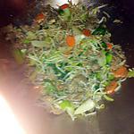 recette wok  viande légumes