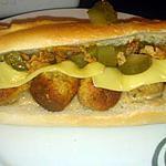 recette sandwich au boulette de dinde