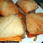 recette Cheeseburger a la mimolette