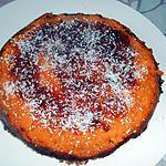 recette Fondant de patate douce et coco