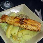 recette Ragout saveur de la mer et pavé de saumon