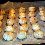 recette Les gougéres apéritive aux 2 fromages de Mamie