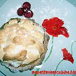 recette tarte aux framboises meringuée