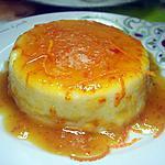 recette flameri  a la cannelle et sa sauce a la marmelade d'oranges