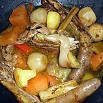 recette Ragout de queues de porc aux légumes
