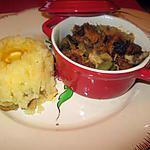 recette cassolette restes de porc de mamigoz