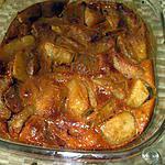 recette recette  gratinée  de pommes  de makiace