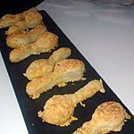 recette Cuillères feuilletées parmesan sésame