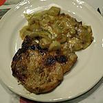 recette Côtelettes de porc et endives braisées au munster