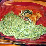 recette pates a la  créme  d épinards  de crémina