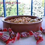 recette CRUMBLE D'ANANAS ô Caramel du CH'Nord