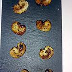 recette Minis palmiers au chocolat