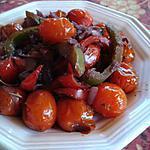 recette Poêlée  provençale au vin rouge