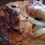 recette Cuisse de dinde et poulet aux oignons