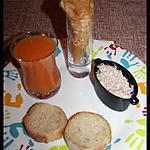 recette Cornet saumon ciboulette