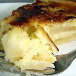 recette Tarte aux pommes à la crème