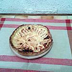 recette Tarte aux pommes façon flan