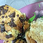 recette Muffin coeur Nutella framboise