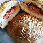 """recette Petits """"pains"""" salés apéritif - Buns"""