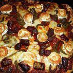 recette Pizza orientale a l agneau