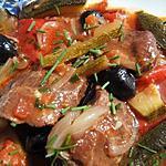 recette Joues de porc aux péquillos mijotées au madiran