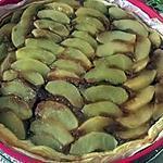 recette tarte au pommes speculoos