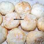 recette Boules de noix de coco