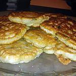 recette Beignet de chevre courgette