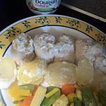 recette escalope de dinde au boursin ail et fine herbe