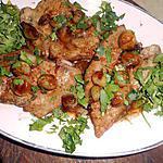 recette Foie de veau aux petits oignons