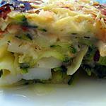 recette Lasagne de la mer aux Saint-Jacques et courgettes - Minceur!!!